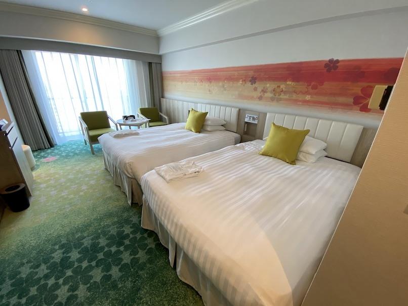 グランドニッコー東京ベイ舞浜の客室:寝室