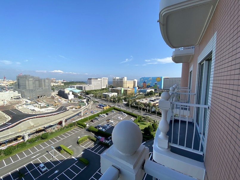 グランドニッコー東京ベイ舞浜の客室:眺望(海側)