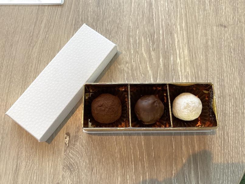 グランドニッコー東京ベイ舞浜の客室:ウェルカムギフト(チョコレート)
