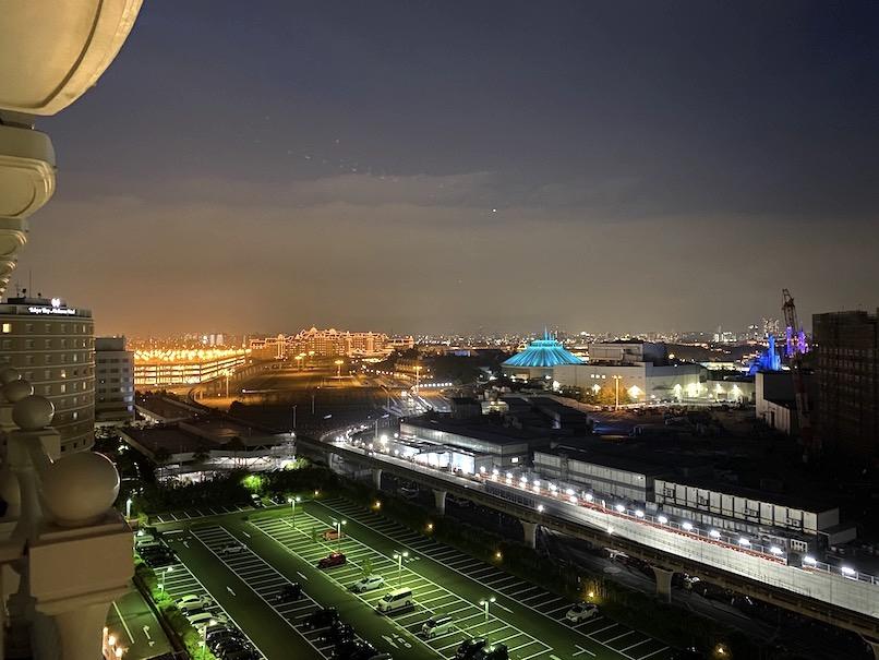 グランドニッコー東京ベイ舞浜の客室:眺望(夜景)