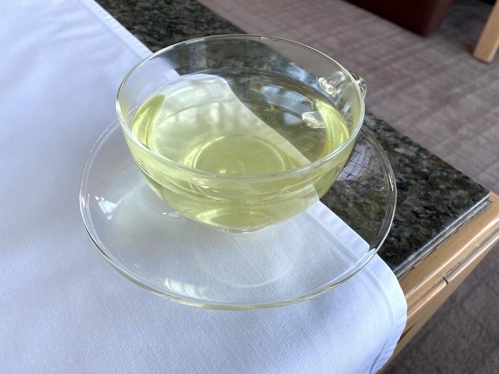 パークハイアット東京のアフタヌーンティー:ドリンク(日本茶)