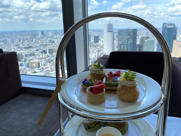 パークハイアット東京のアフタヌーンティーをブログレポート(Top画像)