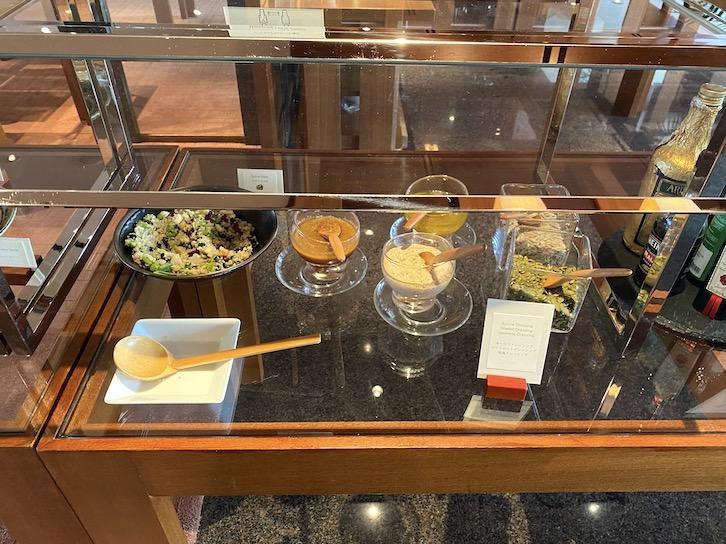 パークハイアット東京の朝食:ビュッフェ(サラダ2)