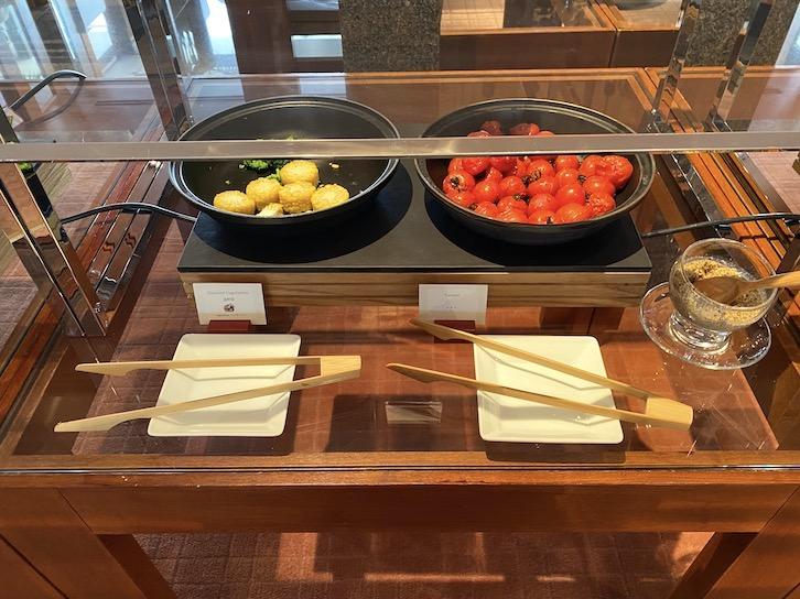 パークハイアット東京の朝食:ビュッフェ(グリル野菜)