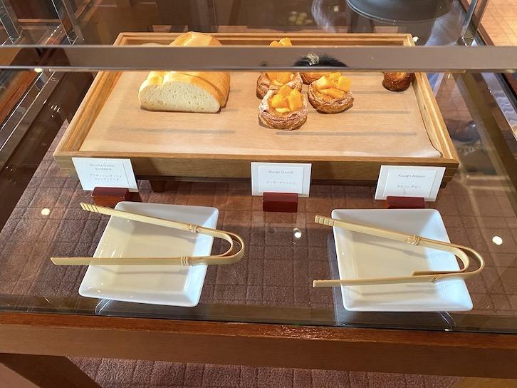 パークハイアット東京の朝食:ビュッフェ(パン2)