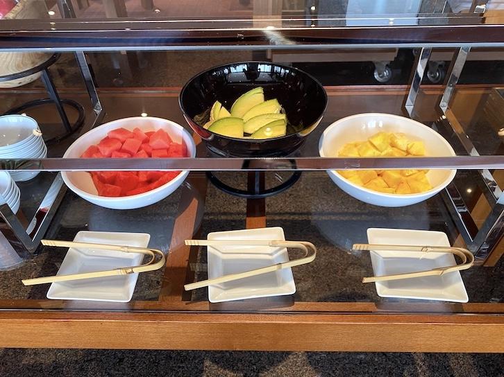 パークハイアット東京の朝食:ビュッフェ(フルーツ)