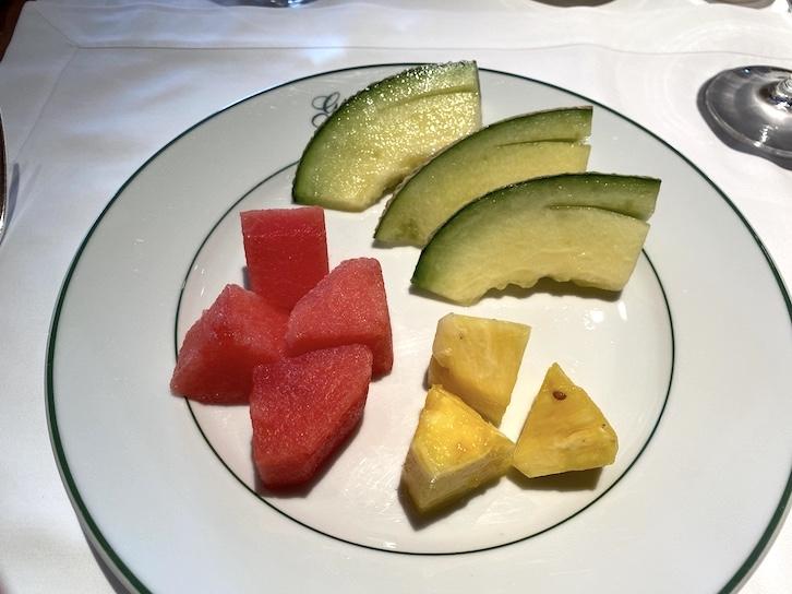 パークハイアット東京の朝食:実食(フルーツ)