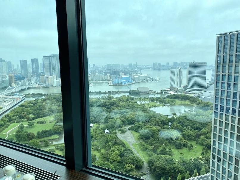 コンラッド東京「トゥエンティエイト」:眺望