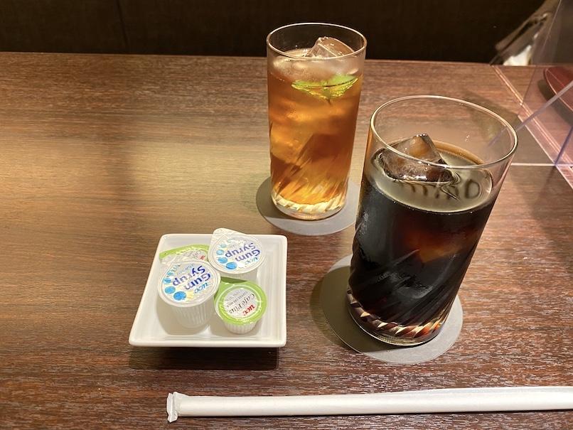 コートヤード・マリオット銀座東武ホテルのアフタヌーンティー:コーヒー&紅茶