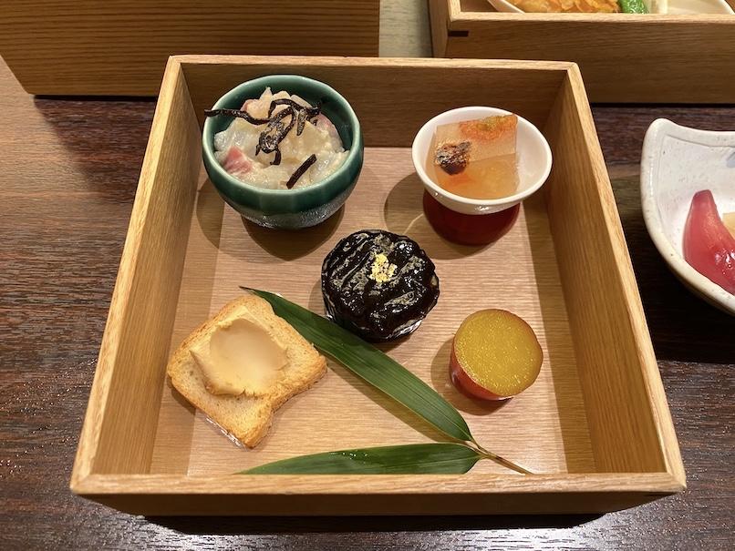 コートヤード・マリオット銀座東武ホテルのアフタヌーンティー:セイボリー(前菜)
