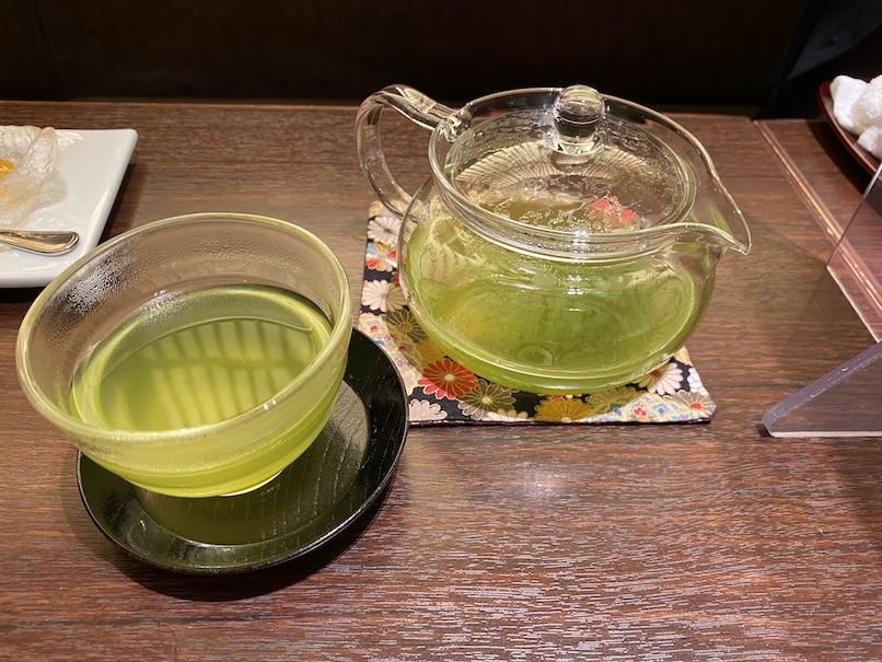 コートヤード・マリオット銀座東武ホテルのアフタヌーンティー:煎茶