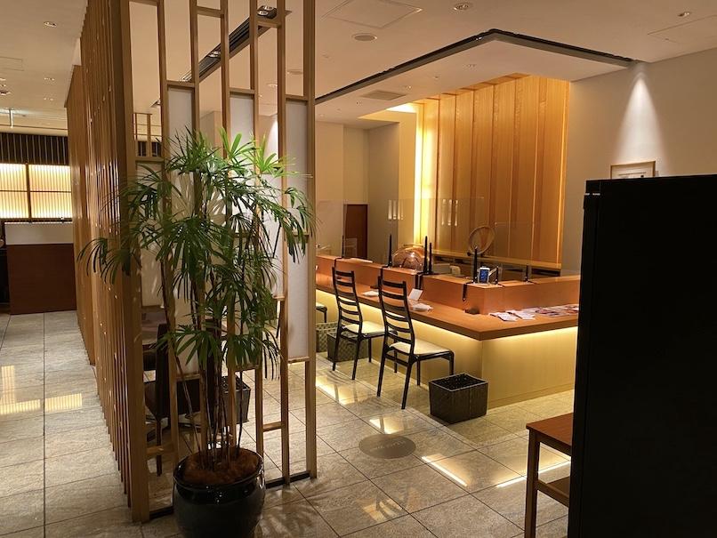 コートヤード・マリオット銀座東武ホテル:銀座むらきの内観