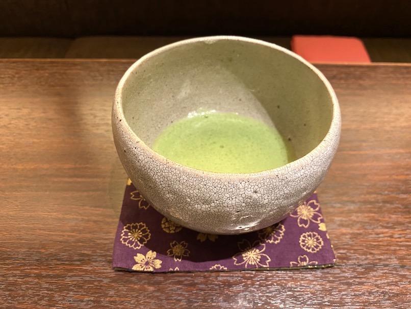 コートヤード・マリオット銀座東武ホテルのアフタヌーンティー:抹茶