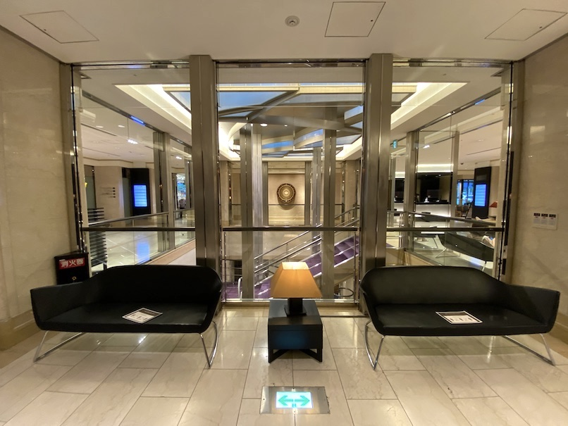 コートヤード・マリオット銀座東武ホテルのロビー