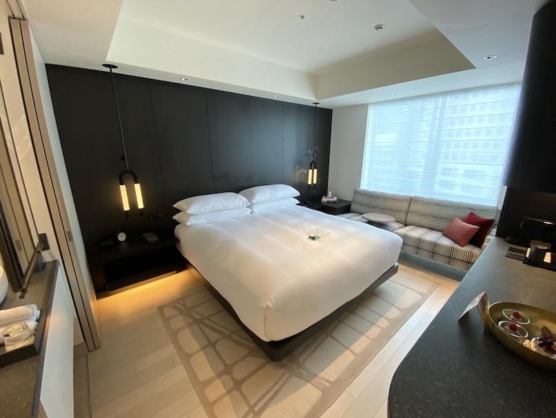 キンプトン新宿東京 客室:寝室