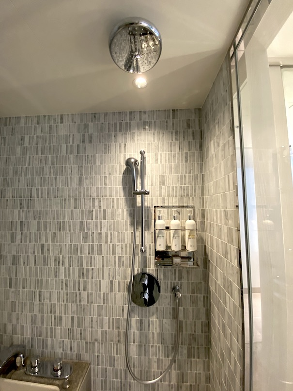 キンプトン新宿東京 客室:バスルーム(シャワー)