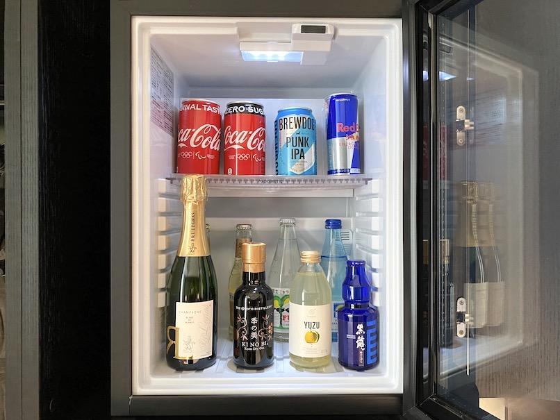 キンプトン新宿東京 客室:ミニバー(冷蔵庫)