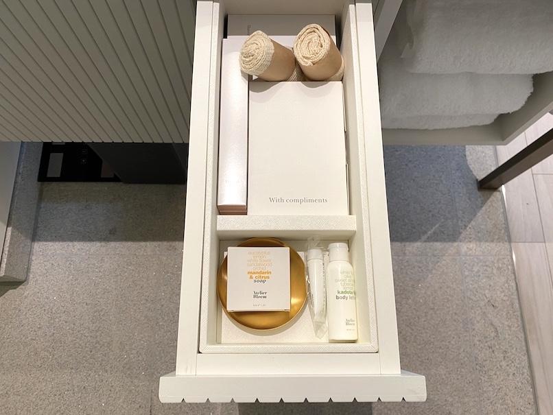キンプトン新宿東京 客室:バスルーム(その他アメニティー)