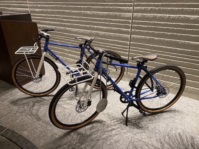 キンプトン新宿東京:自転車レンタル(自転車)