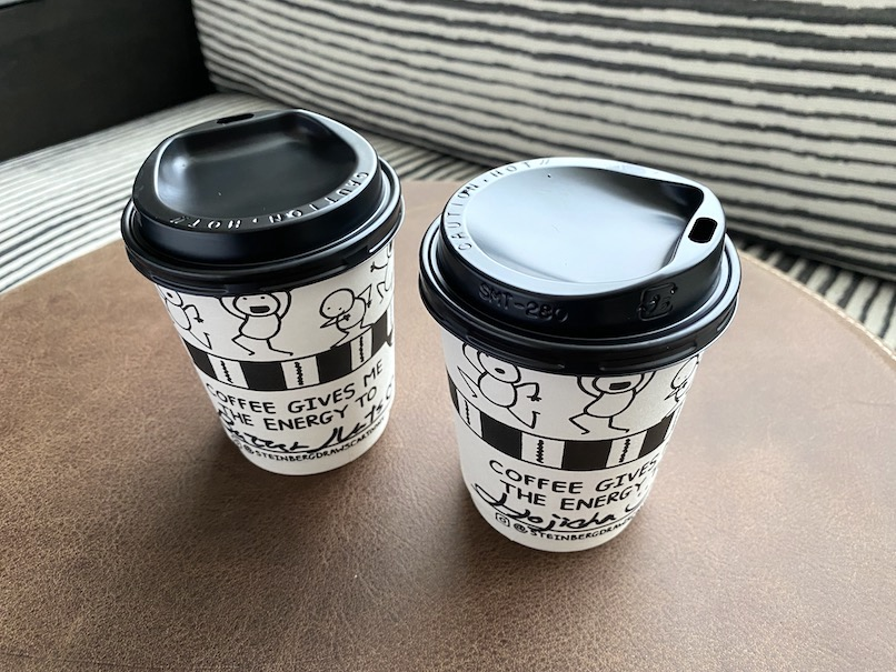 キンプトン新宿東京:モーニングキックスタート(コーヒー)