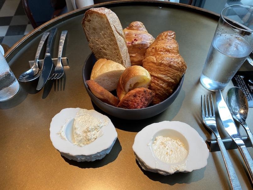 キンプトン新宿東京の朝食(ブランチ):フード(パン)