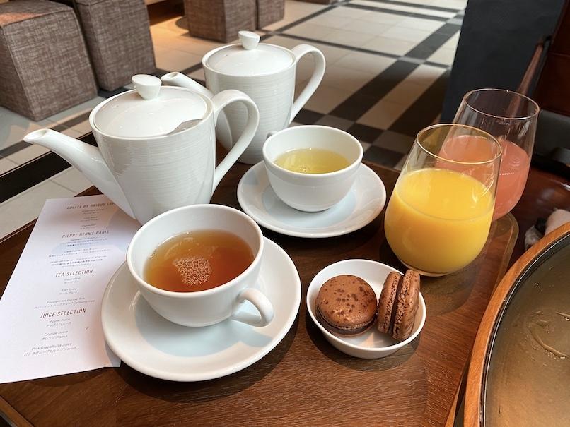 キンプトン新宿東京の朝食(ブランチ):ドリンク