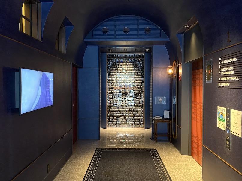 メルキュール東京銀座:ホテルのエレベーターホール