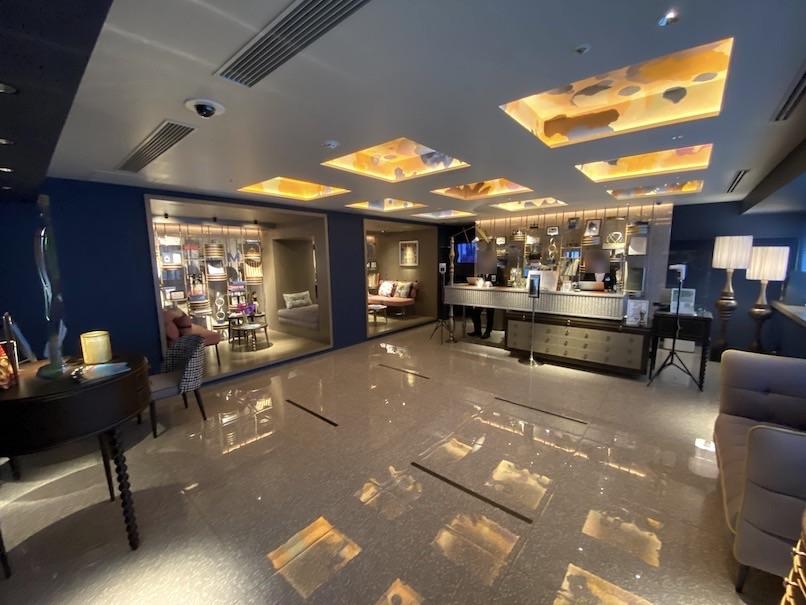 メルキュール東京銀座:ホテルのロビー