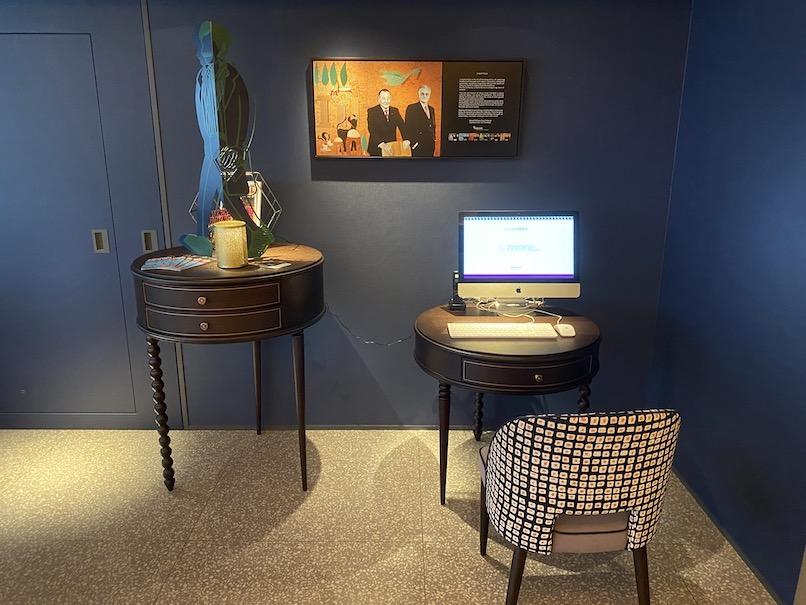 メルキュール東京銀座:ホテルの無料PC(インターネット)