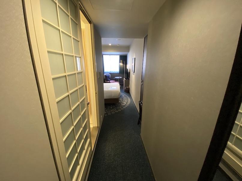 メルキュール東京銀座の客室:廊下