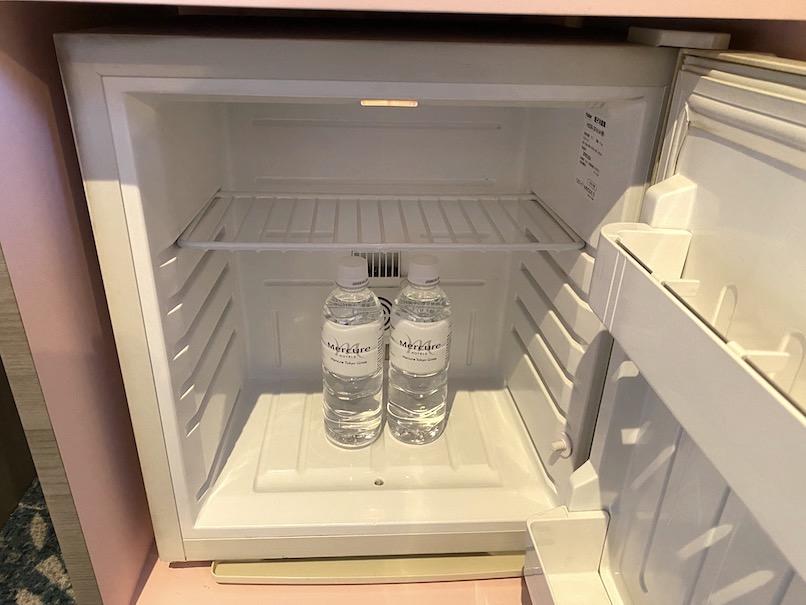メルキュール東京銀座の客室:冷蔵庫