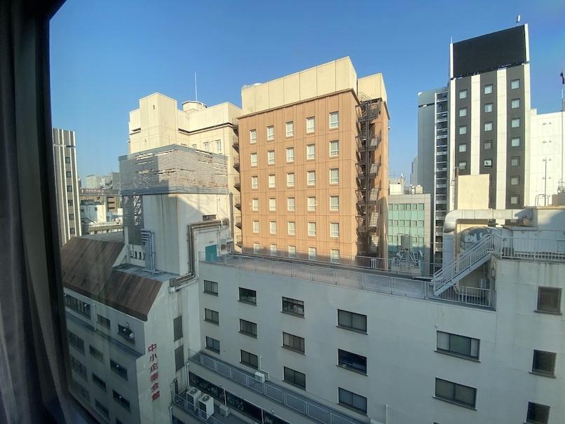 メルキュール東京銀座の客室:眺望