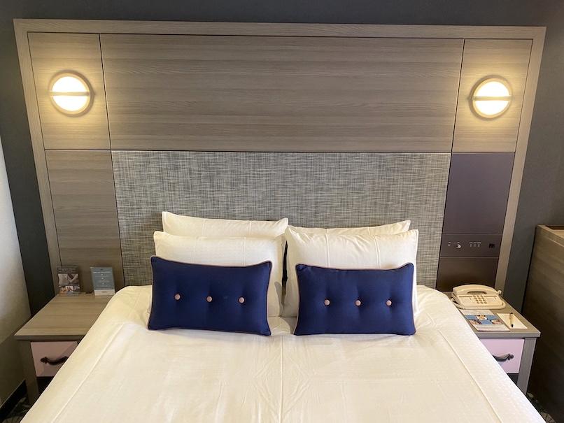 メルキュール東京銀座の客室:ベッド