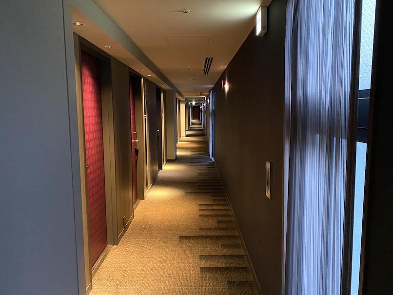 メルキュール東京銀座:ホテルの内廊下