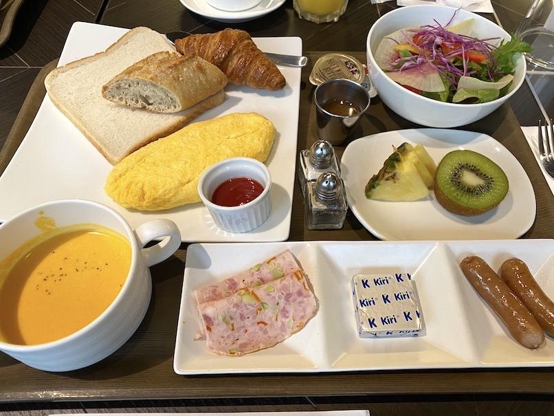 メルキュール東京銀座の朝食:洋食セット