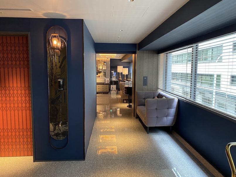 メルキュール東京銀座:ホテルの2階フロア