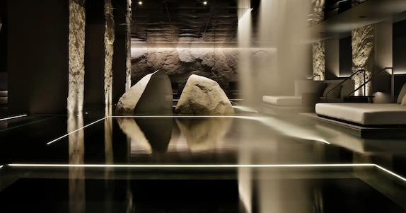 HOTEL THE MITSUI KYOTO(ホテルザ三井京都)「サーマルスプリングSPA」:スパエリア(1)