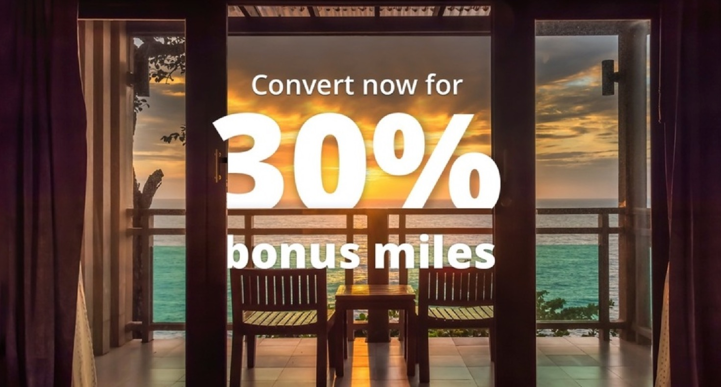 マリオットポイントをユナイテッド航空(UA)マイルに交換で30%増量キャンペーン実施中(Top画像)