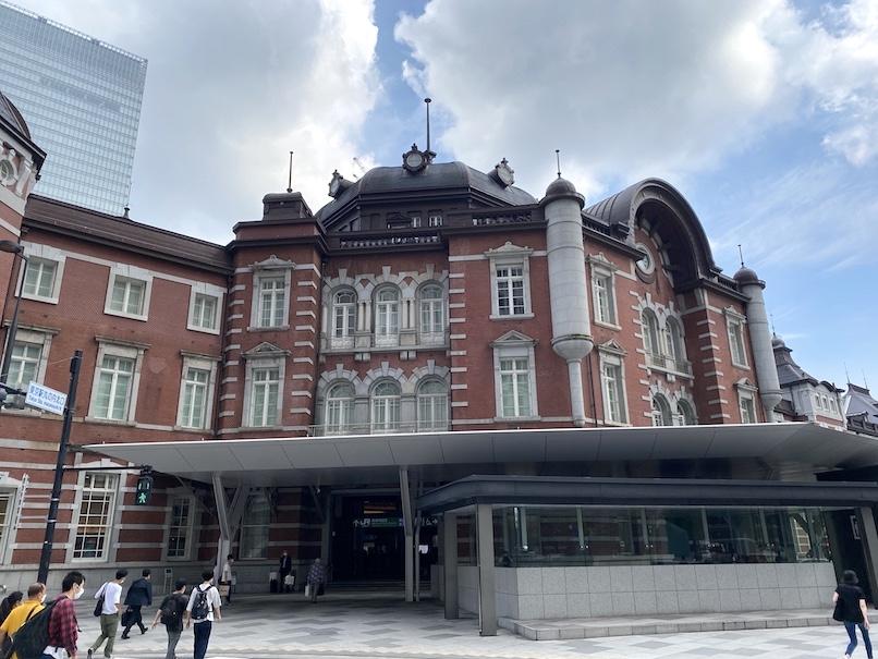 東京ステーションホテルの外観:ドーム