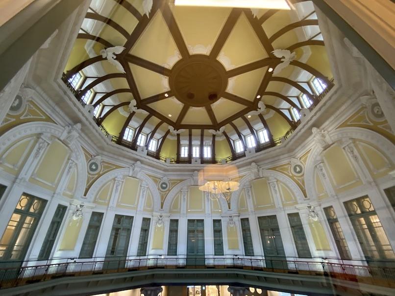 東京ステーションホテルの客室:眺望(天井)
