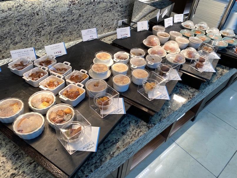 東京ステーションホテル「アトリウム」:朝食ビュッフェ(ホットミール)