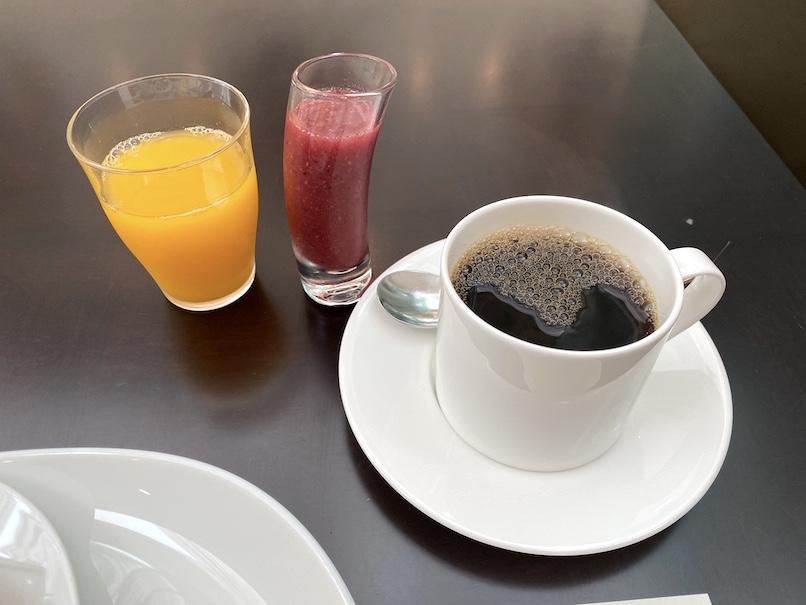 東京ステーションホテル「アトリウム」:朝食(ドリンク)