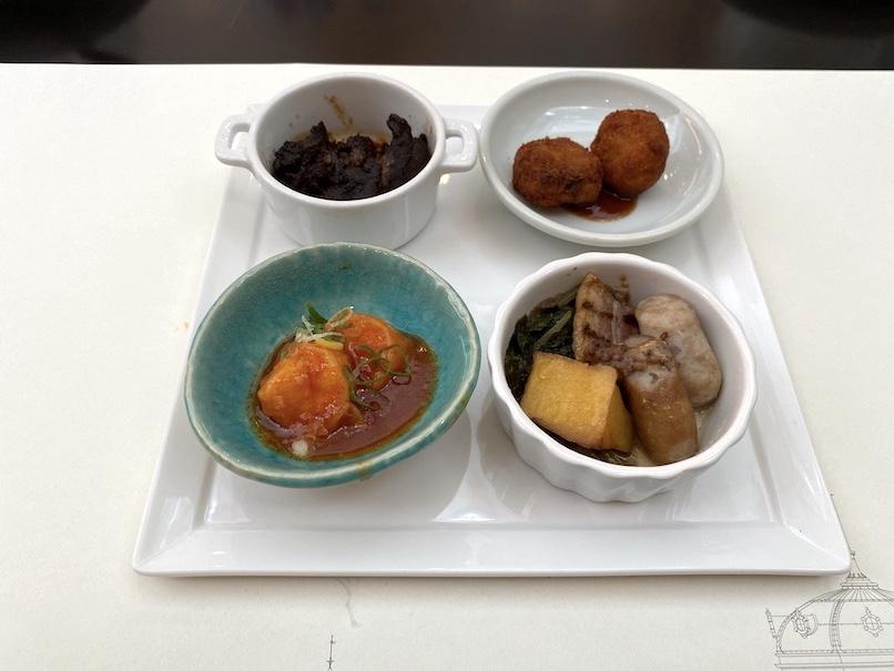東京ステーションホテル「アトリウム」:朝食(ホットミール)