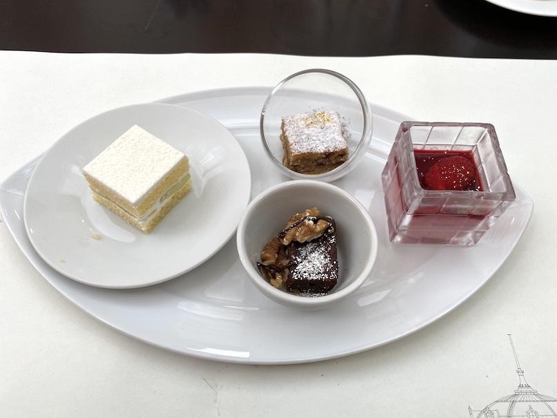 東京ステーションホテル「アトリウム」:朝食(デザート)