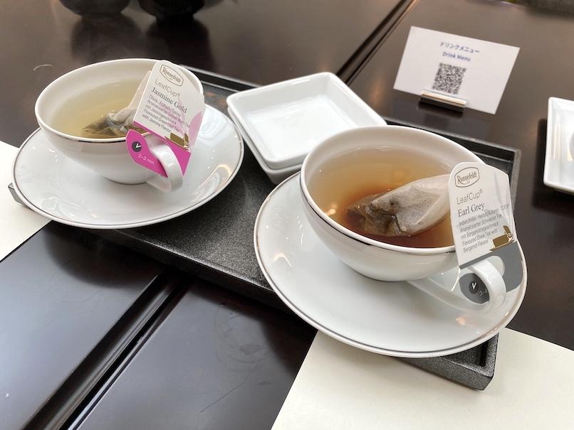 東京ステーションホテル「アトリウム」:朝食(紅茶)