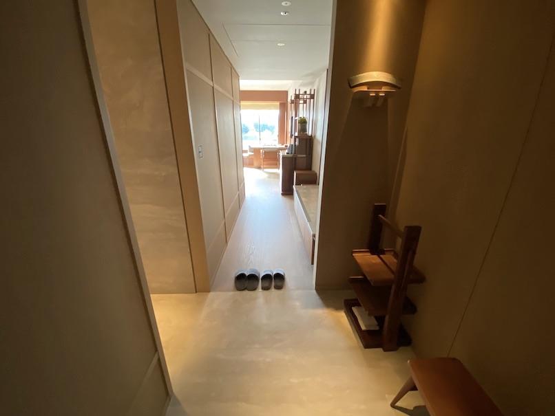 HOTEL THE MITSUI KYOTO(ホテルザ三井京都)の客室:玄関