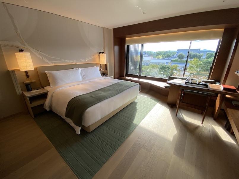 HOTEL THE MITSUI KYOTO(ホテルザ三井京都)の客室:寝室