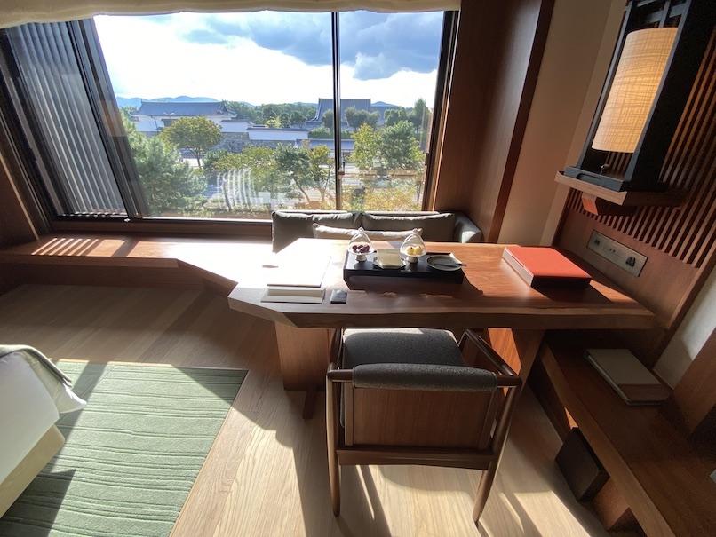 HOTEL THE MITSUI KYOTO(ホテルザ三井京都)の客室:デスク