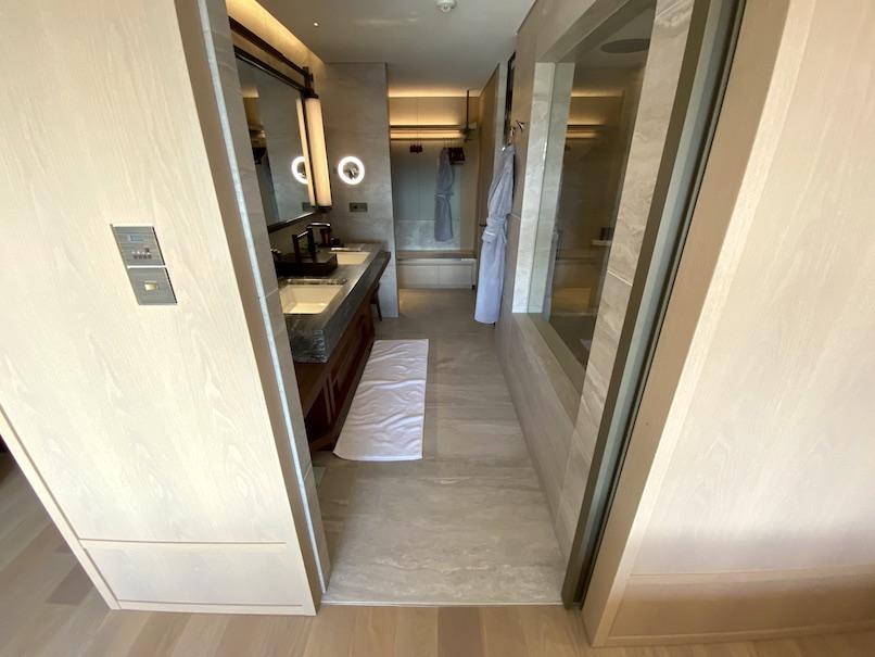 HOTEL THE MITSUI KYOTO(ホテルザ三井京都)の客室:バスルーム