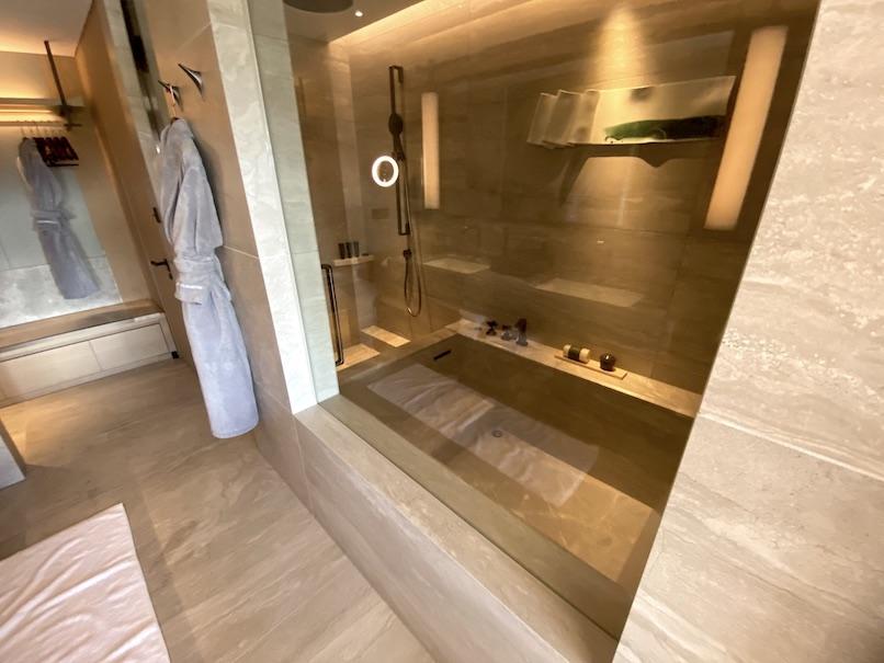 HOTEL THE MITSUI KYOTO(ホテルザ三井京都)の客室:浴室